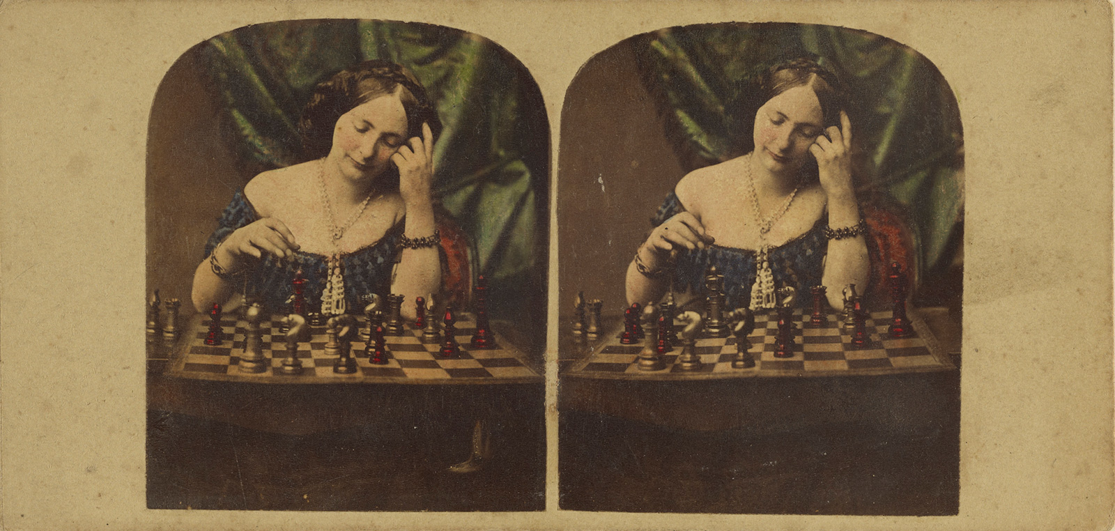 Looking at Chess in Art - A Game of Beautiful Problems